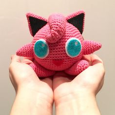 Pokemon Rondoudou / Jigglypuff - free crochet pattern in French with some…