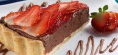 Torta de Nutella® e morango