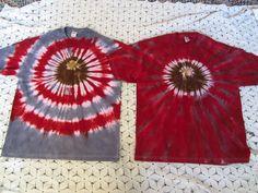Tie dye shirt Adult XL Ohio State Buckeye you by BrisTieDyes Buckeyes Football, Ohio State Football, Ohio State University, Ohio State Buckeyes, Ohio State Crafts, The Buckeye State, Tie Dye, Diy Crafts, Crafty