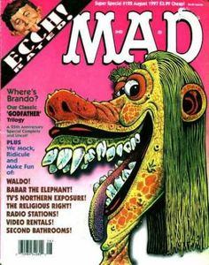 A cover gallery for the comic book Mad Special Mad Magazine, Magazine Covers, Northern Exposure, Vintage Magazines, The Godfather, Nostalgia, Rage, Comic Book, Collection