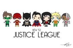 [Updated] Been working drawing characters off a template I designed. Wanted to draw the New 52 Justice League! - Imgur