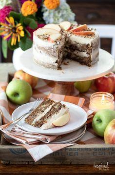 Delicious German Apple Cake Recipe #germanapplecake #applecake #fallbaking #cake #fall #cinnamon #recipe #dessert Apple Cake Recipes, Cupcake Recipes, Baking Recipes, Cupcake Cakes, Dessert Recipes, Desserts, German Apple Cake, Cinnamon Cream Cheese Frosting, Fall Baking