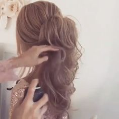 56 Updo Hairstyle Ideas & Tutorials for Wedding Do you wanna learn how to styling your own hair? Well, just visit our web site to seeing more amazing video tutorials!