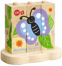 The eco-friendly, child-safe wooden EverEarth Amazon Stacking Block Puzzle is a 9 piece set of wooden toys made of solid wood and finished with water-based, non-toxic paint. A wonderful gift for any child! Available now at http://www.alltotstreasures.com.au/EverEarth/everearth-amazon-stacking-block-puzzle