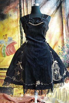 supercutelolita: Infanta Emperor Nightingale Jumper Skirt