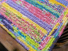 rag rug patterns - Google Search