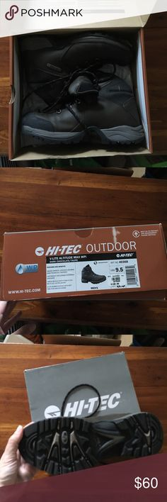New in the box Hi-Tec hiking boots Brand new never worn hiking boots Hi-Tec Shoes Boots