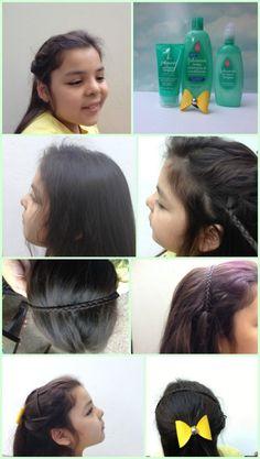 Cómo hacer un peinado fácil y rápido para el regreso a clases #NoMoreTangles #Ad #LatinaBloggers