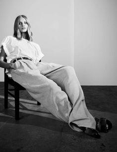 Anna Selezneva by Hasse Nielsen for Vogue Spain February 2016 3