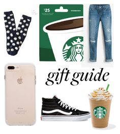 """""""Gift guide"""" by fnmilfor ❤ liked on Polyvore featuring White House Black Market, Aéropostale and Vans"""