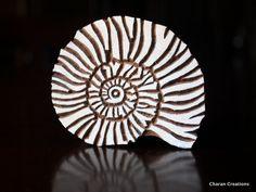 Sello textil cerámica estampilla sello de por charancreations