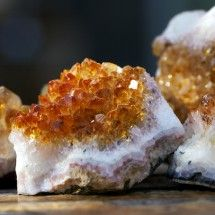 Citrine is called The Merchant Stone because it is a powerful stone to attract prosperity and success. Place citrine in your safe, cash register or money bag to increase business. It not only attracts wealth, it helps one maintain it. Citrine stimulates the mental focus and commitment to the task at hand. Citrine is believed to enhance the intuition and the connection with the higher self.