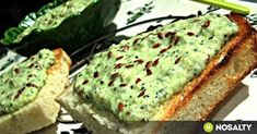 Hungarain 'courgette pate', will try with soft cheese instead of sour cream Healthy Fats Foods, Fat Foods, Healthy Snacks, Diabetic Recipes, Diet Recipes, Vegan Recipes, Cooking Recipes, Vegan Food, Avocado Toast