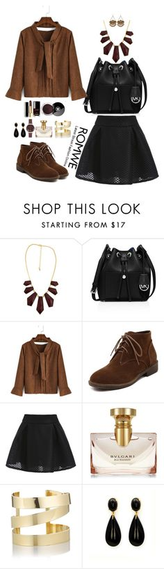 """Romwe 2"" by amra-f ❤ liked on Polyvore featuring MICHAEL Michael Kors, Bulgari, Chanel, Étoile Isabel Marant, Olivia Burton, 1d, romwe and 5sos"