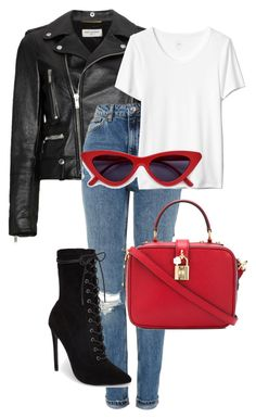 black leather jacket and jeans outfits Spring Outfits, Trendy Outfits, Cute Outfits, Fashion Outfits, Womens Fashion, Fasion, Fashion Killa, Look Fashion, Polyvore Outfits