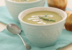 Asparagus Soup -- a perfect Mrs. Dash recipe - mrsdash.com #saltsubstitute #nosalt #soup