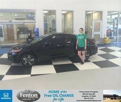 #HappyBirthday to Jennifer  Beasley from Jake Johnson at Fenton Honda of Longview!