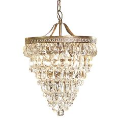 Clarissa Glass Drop Chandelier by Amonson Lighting | Zanui