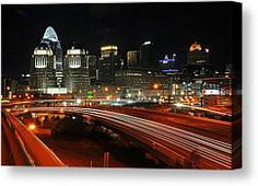 Eastern side of downtown Cincinnati