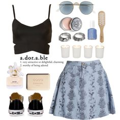 """Adorable"" by carolinar-922 on Polyvore"