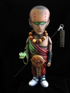 """Fireheart Monk"" 