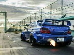 Subaru Impreza #BackFire