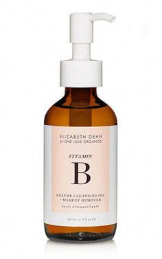 Elizabeth Dehn for One Love Organics Vitamin B Enzyme Cleansing Oil + Makeup Remover - Enzymatic cleansing oil effortlessly lifts away impurities and makeup while restoring skin's natural moisture and pH balance. Organic Beauty, Organic Skin Care, Natural Beauty, Natural Facial, Au Natural, Natural Makeup, Beauty Products Labels, Facial Products, Serum