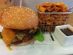Burger Stuttgart: The Burger Republic in der Marienstrasse - Hubert-testet -> Absolut zu empfehlen, sehr, sehr leckere Burger in Stuttgart
