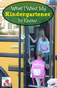School-aged kids need to know they are safe, loved, and important. And maybe where that private stash of cookies is when they need it. Prep School, Tot School, School Tips, School Hacks, First Day Of School, School Ideas, Back To School, Starting Kindergarten, Peaceful Parenting