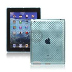Husa Silicon Diamond iPad Blue