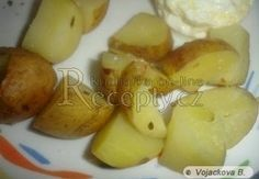 Brambory v mikrovlnce Garlic, Food And Drink, Potatoes, Vegetables, Recipes, Ds, Pineapple, Potato, Recipies