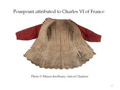Jupon of Charles VI worn *over* harness