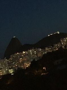 At night, at home, Rio de Janeiro, Brazil