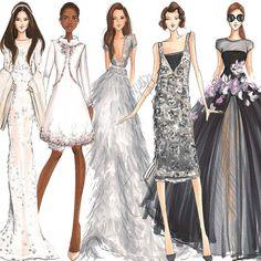 Shades of gray. #fashionsketch #fashionillustrator #fashionillustration #couture #copic #copicart #illustration #illustrator #hnicholsillustration #giambattistavalli #eliesaab #zuhairmurad