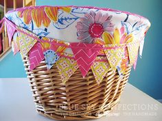 Blue Sky Confections: New Beach Cruiser Basket Liners