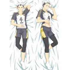 """Anime My Hero Academia Bakugo Rubber KATSUKI Pillow Case Cover Hugging Body 41/"""""""