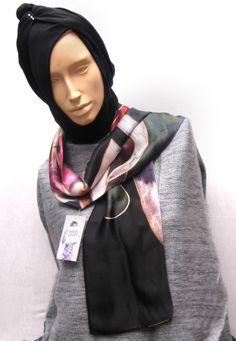 Foulard de seda estampada 100%. Envuélvete en seda natural. #regalos #originalgifts #Bilbao Vas hecha un cuadro