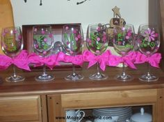 16 Useful DIY Ideas How To Decorate Wine Glass | Amazing Online Magazine