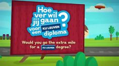 'Casemovie KU Leuven - Hoe ver wil je gaan?' for KU Leuven. Client: KU Leuven Agency: darw!n an agency of bbdo worldwide