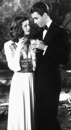 "* Katharine Hepburn and James Stewart * (""The Philadelphia Story"", 1940)."