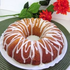 Pineapple Bundt Cake by Cheah