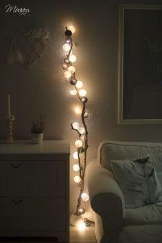 Znów Cotton Ball Lights, znów drzewo - Moaa.pl | Blog podszyty kobiecością