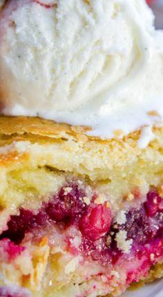 Cranberry Custard Pie