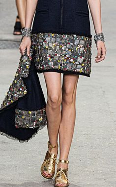Chanel Spring-Summer 2015, style that glitters