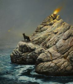 """Martin Wittfooth's""""The Archaic Revival"""" at Corey... - Supersonic Art"""