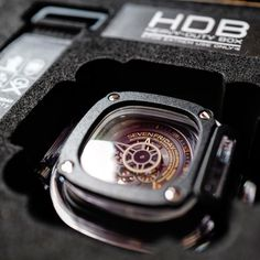 Black & Gold, locked and loaded SevenFriday with HDB.