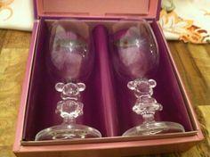Disney Wine Glasses- Mickey & Minnie