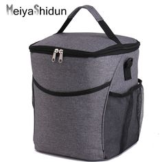 MeiyaShidun Brand Portable Lunch Picnic Bag Insulated Cooler Bag Lunch boxes for woman Thermal food Lunch Pouch bolsa termica