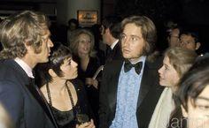 Steve, Neile et Michael Douglas.