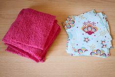 Lingettes lavables et panier de rangement réversible - Karine Wonderland Coin Couture, New Years Eve Party, Diy And Crafts, Wonderland, Sewing, Blog, Styles, Crocheting, Textiles